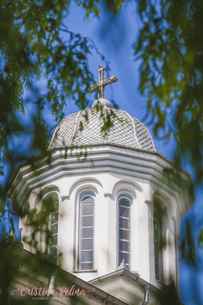 Fotografie de Botez – Detaliu biserica