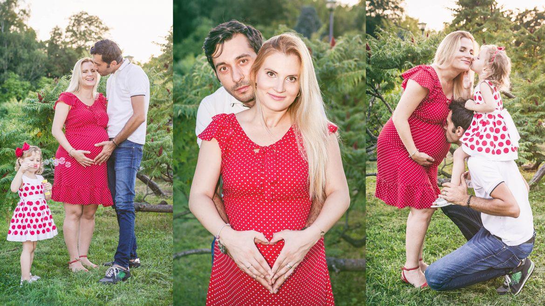 Sedinta Foto Maternitate si Familie in Parc Herastrau - Fotograf Botez Bucuresti