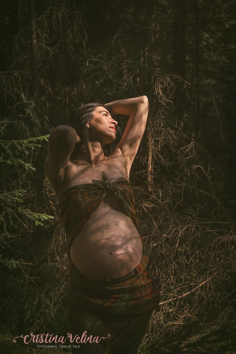 Sedinta foto Maternitate in padure