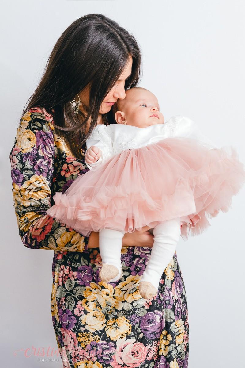 Mami si bebe Eva – Sedinta foto Botez